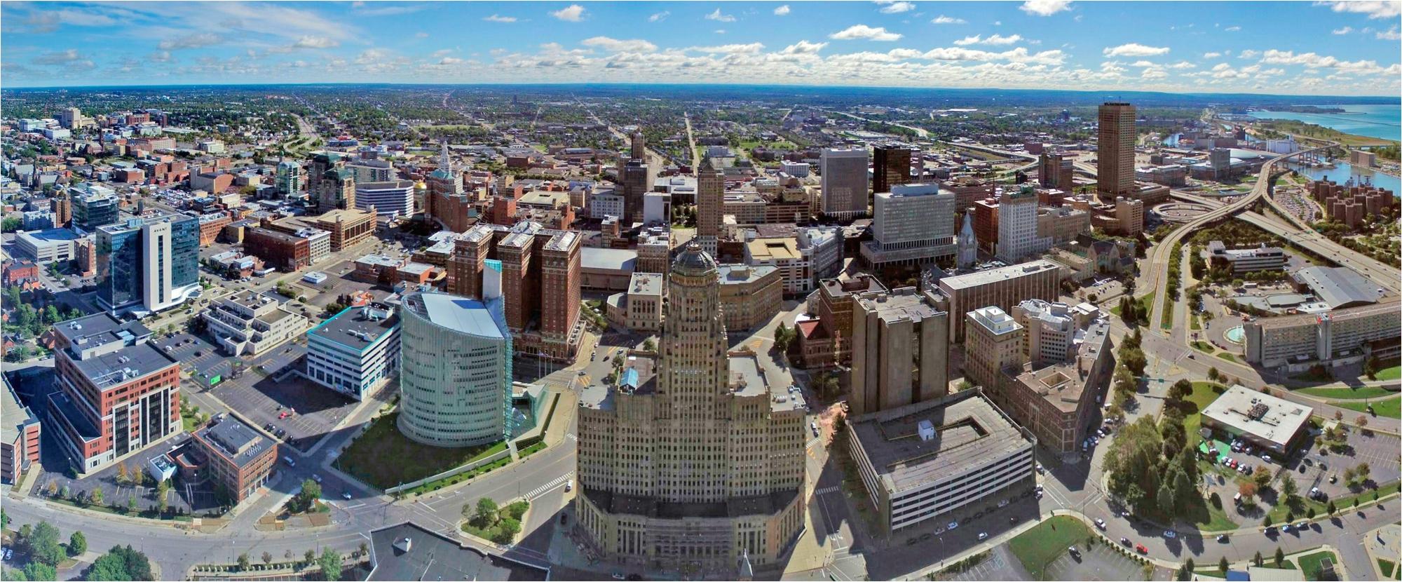 aerial photo of buffalo ny skyline jpg