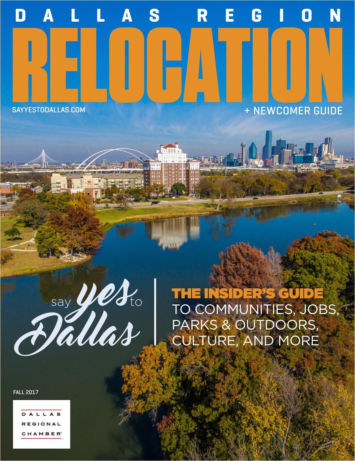 dallas region relocation newcomer guide fall 2017 by dallas regional chamber publications issuu