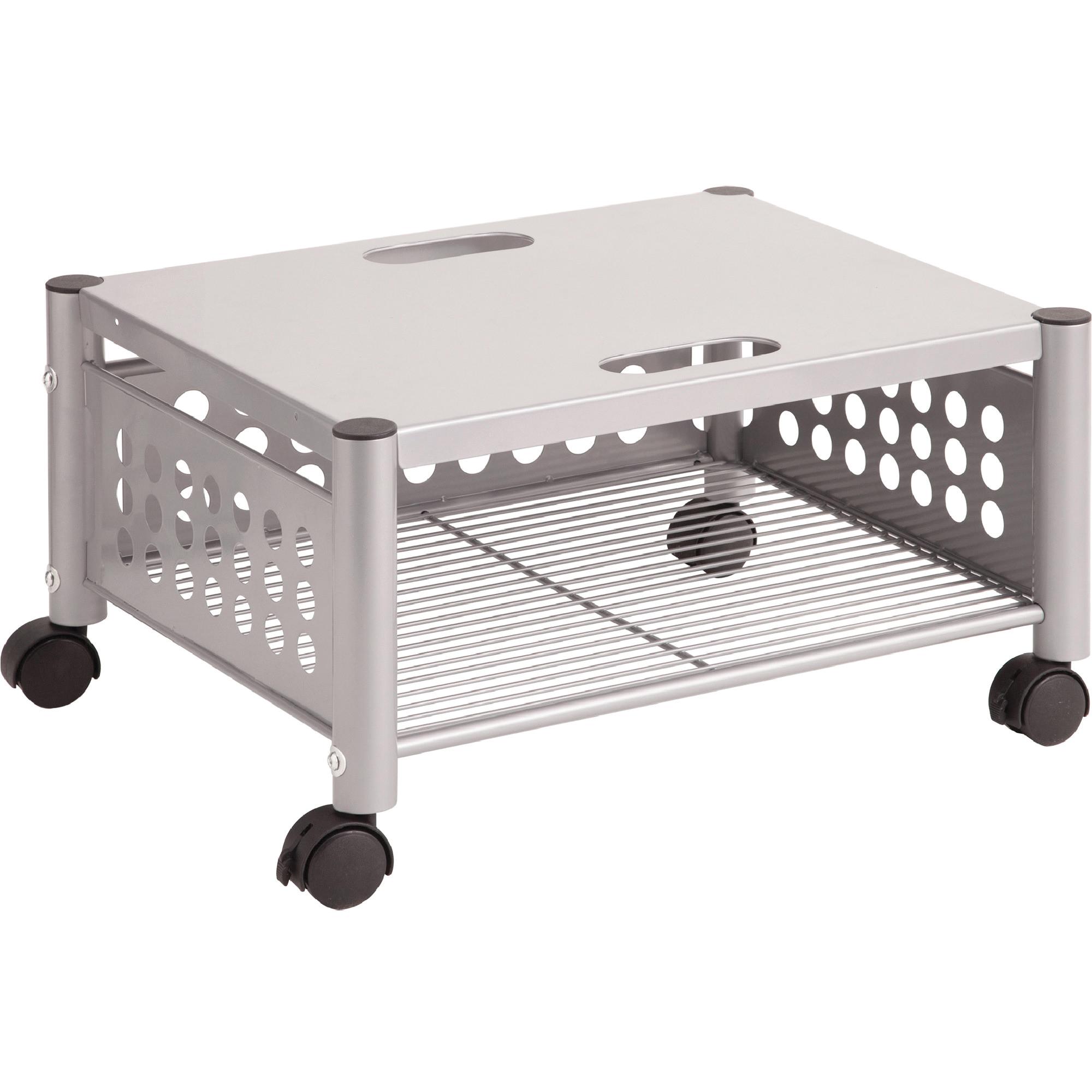 vertiflex vrtvf52005 underdesk gray machine stand 1 each matte gray walmart com