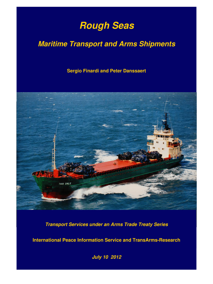 pdf rough seas maritime transport and arms shipments
