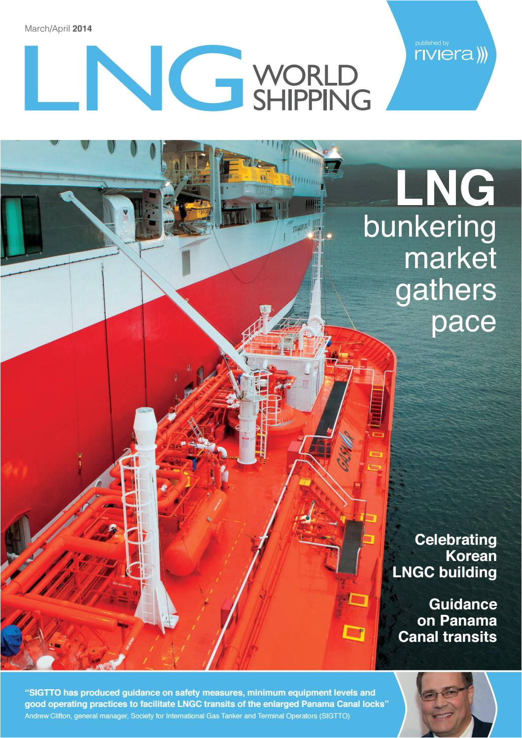 lng world shipping march april 2014