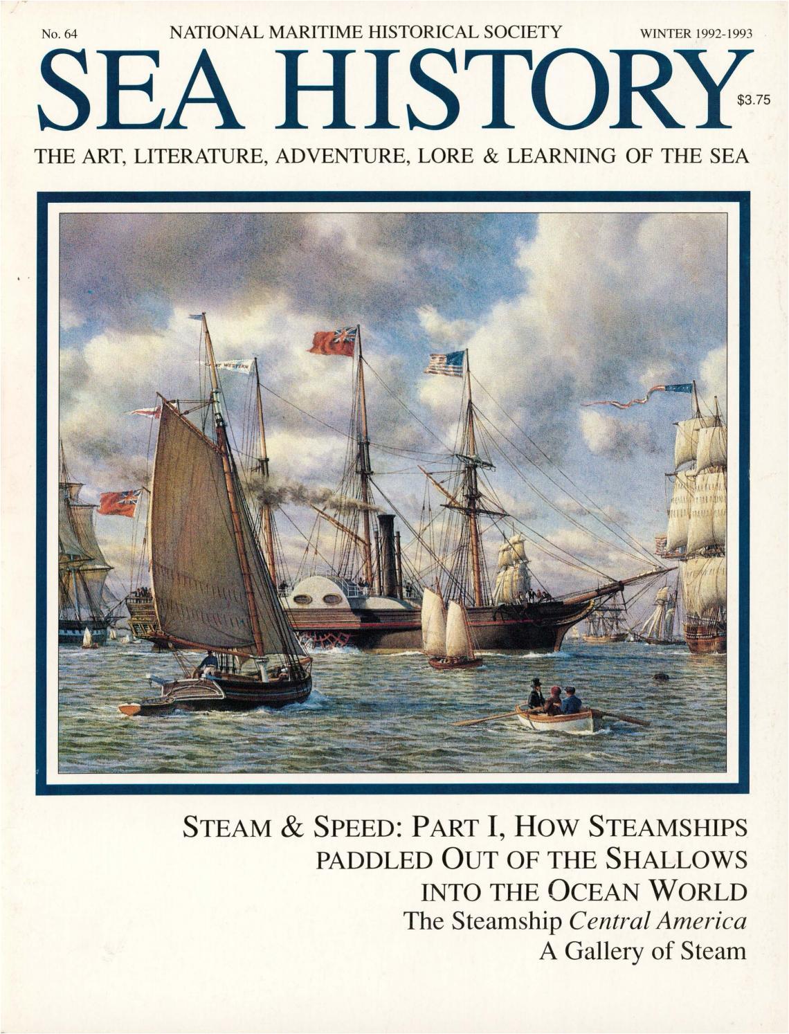 sea history 064 winter 1992 1993 by national maritime historical society sea history magazine issuu