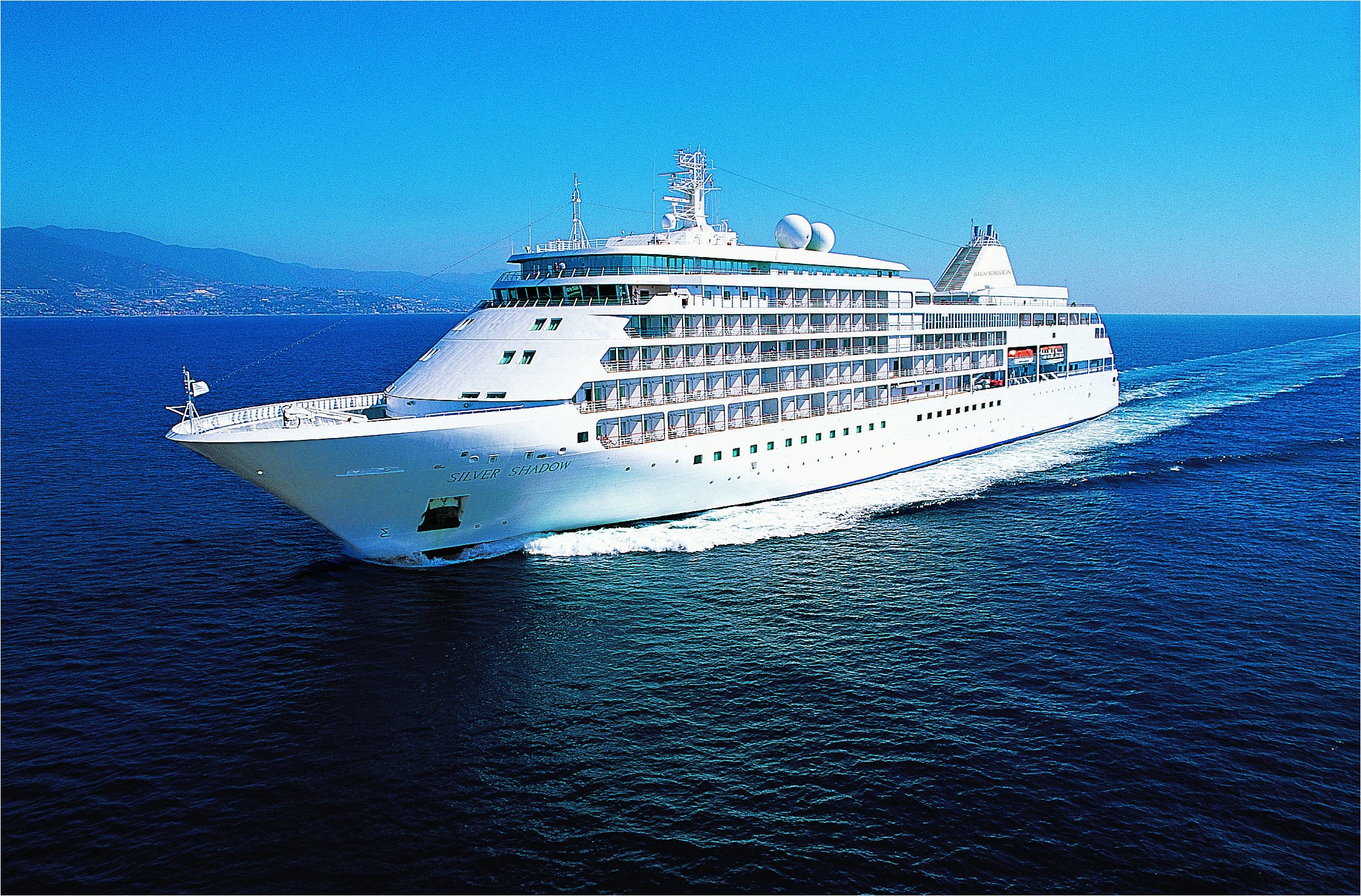 silversea s millennium class ships silver shadow and her sister ship silver whisper are built with proportions slightly larger in size than the two