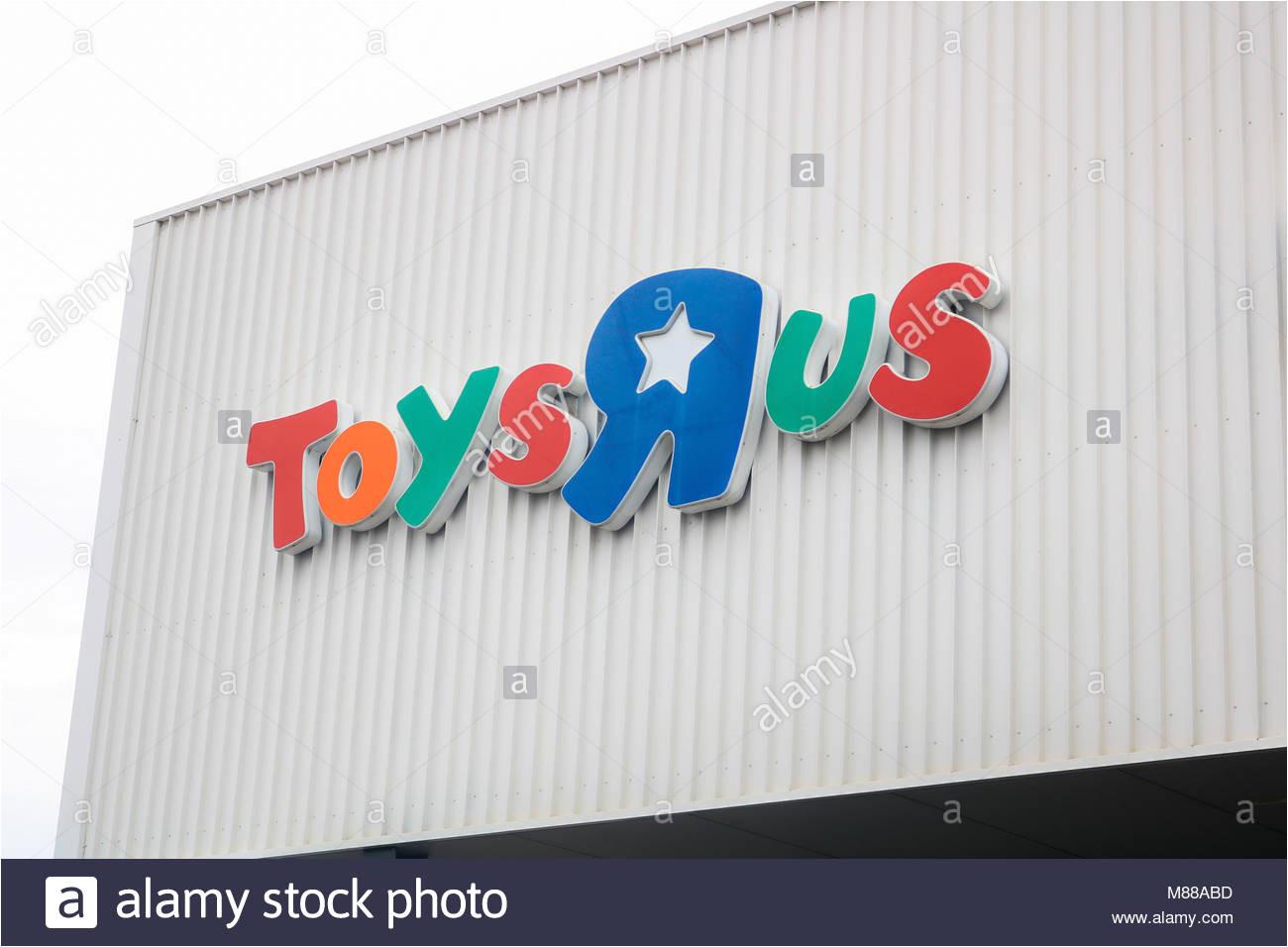 adelaide australien 16 marz 2018 toys r us und babys