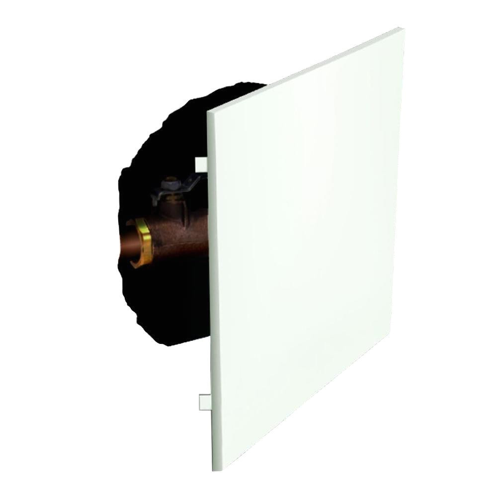 access panel spring mount