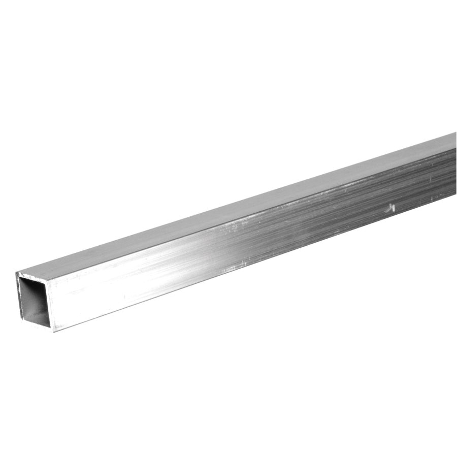 hillman 8 ft x 1 in aluminum plain square tube