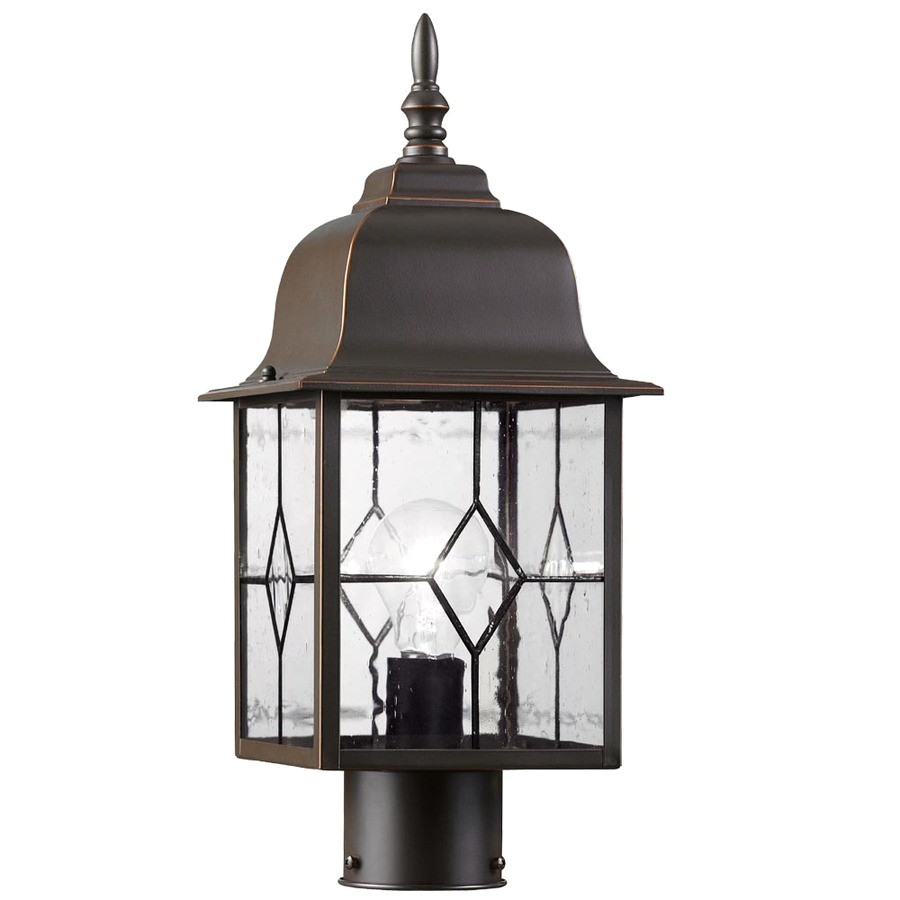 display product reviews for litshire 17 in h oil rubbed bronze post light