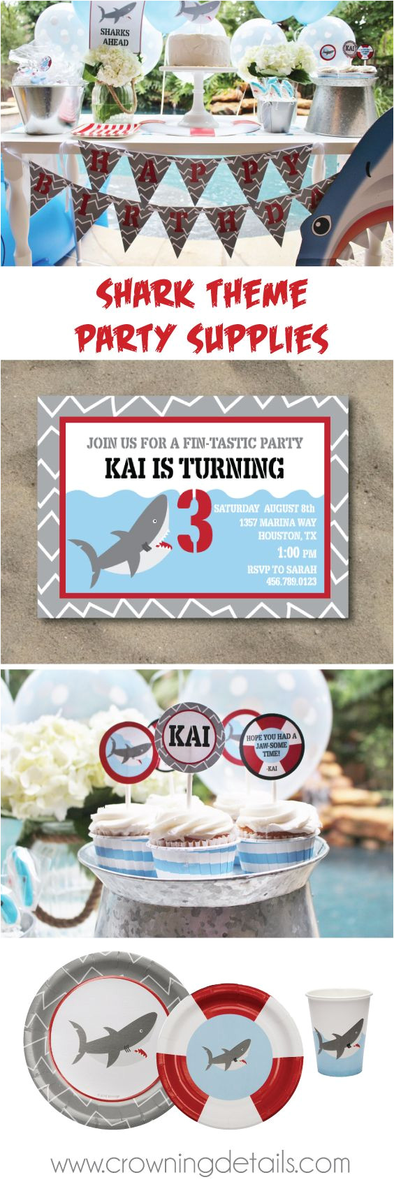 shark party ideas browse our shark party supplies in the online store sharkpartyideas