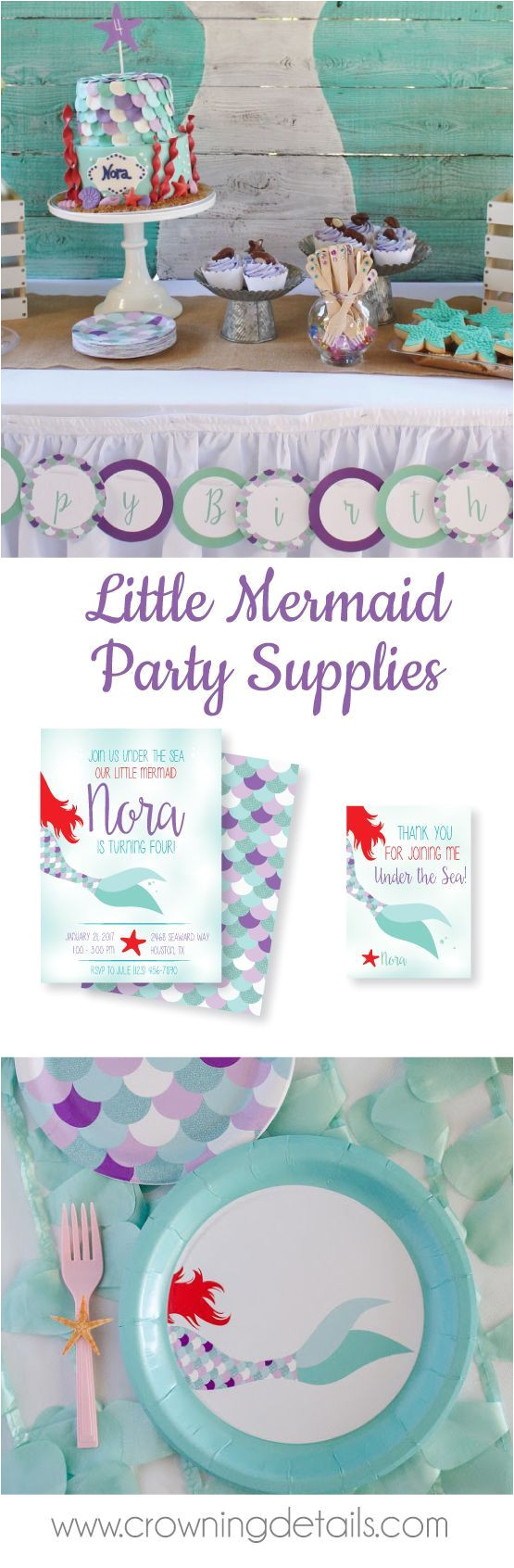 mermaid party ideas shop our collection of mermaid party supplies in the online store