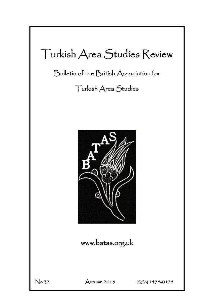 pdf turkish israeli relations turkish area studies review bulletin of the british association for turkish area studies number 32 autumn 2018