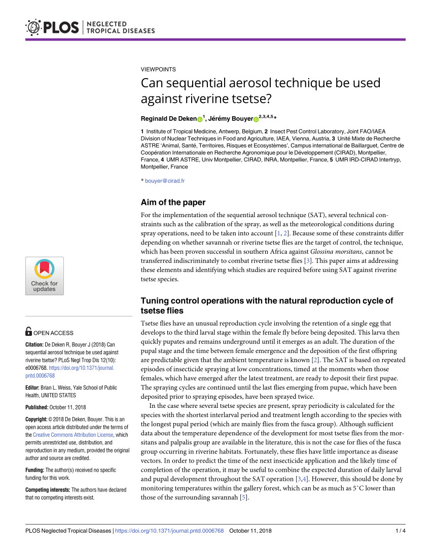 pdf advances in aerial application technologies and decision support for integrated pest management