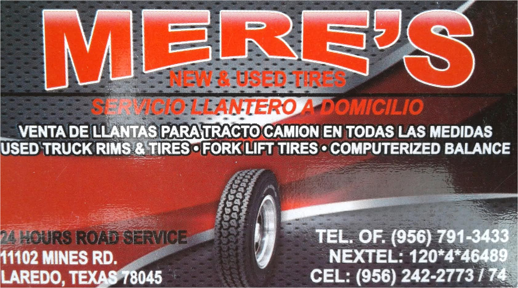 mere s new used tires