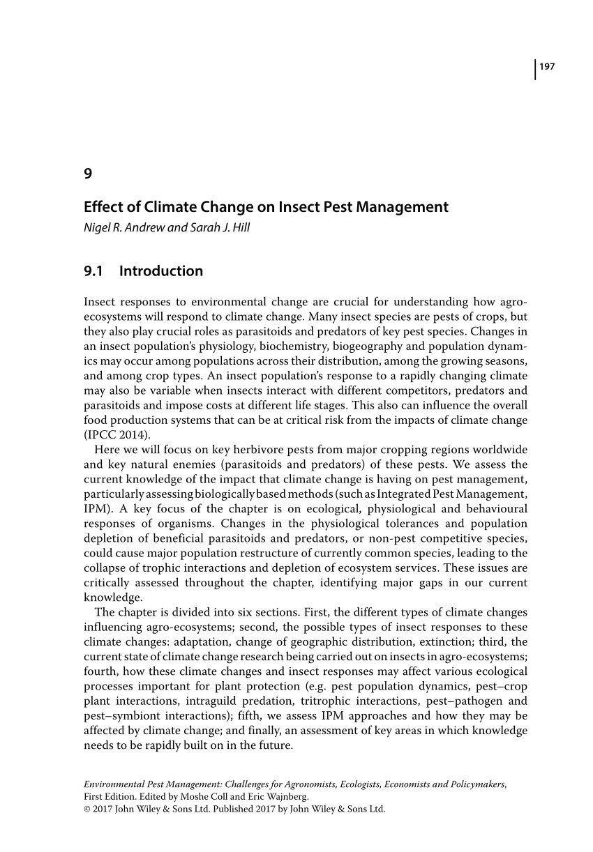 pdf the use of semiochemical slow release devices in integrated pest management strategies