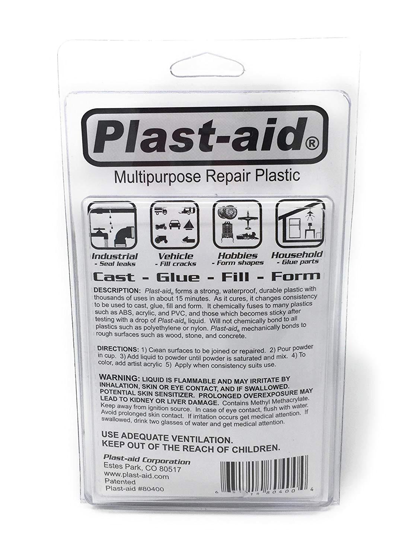 amazon com plast aid multipurpose repair plastic 6oz kit pool and spa repair garden outdoor
