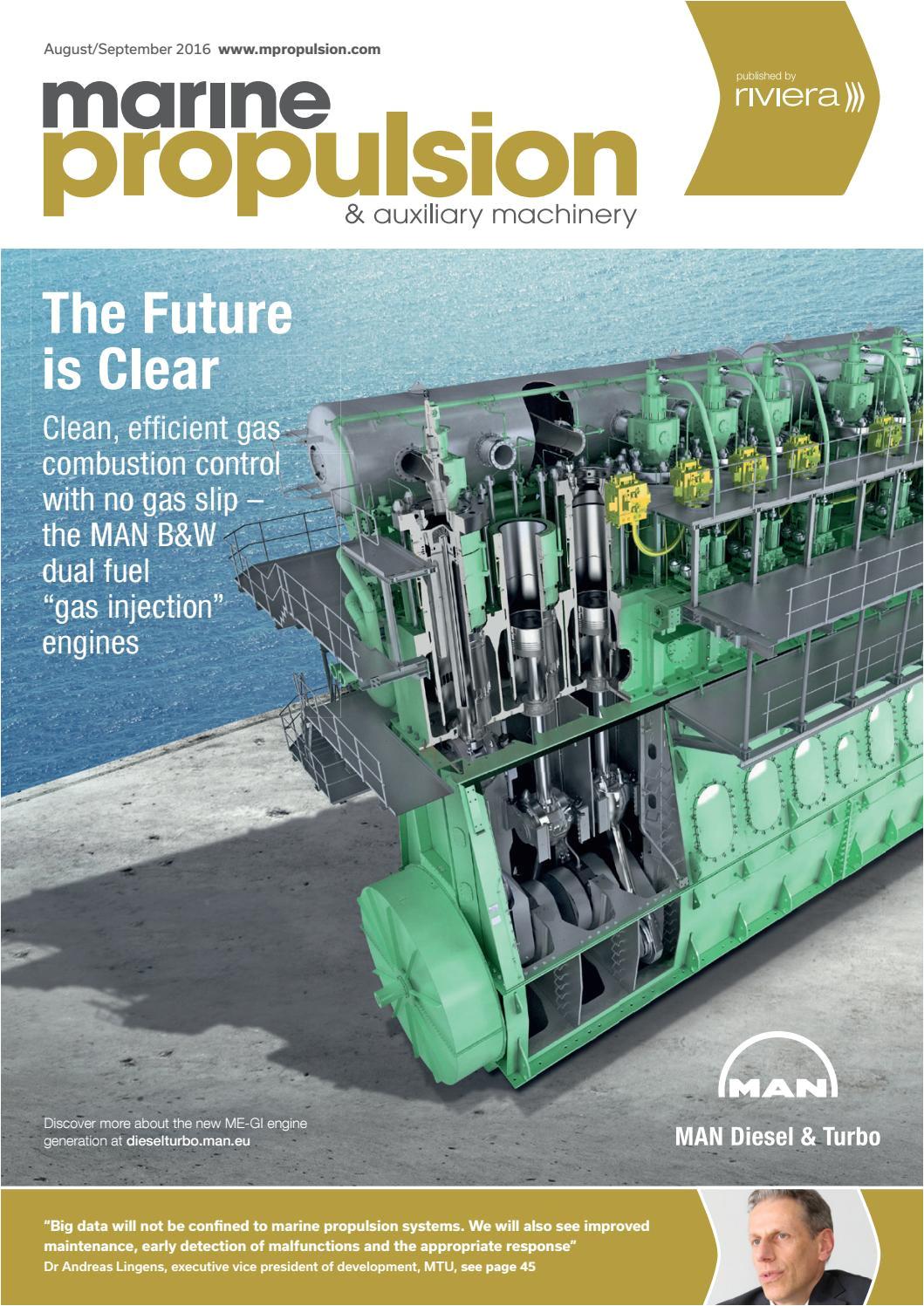 marine propulsion auxiliary machinery aug sep16 by rivieramaritimemedia issuu