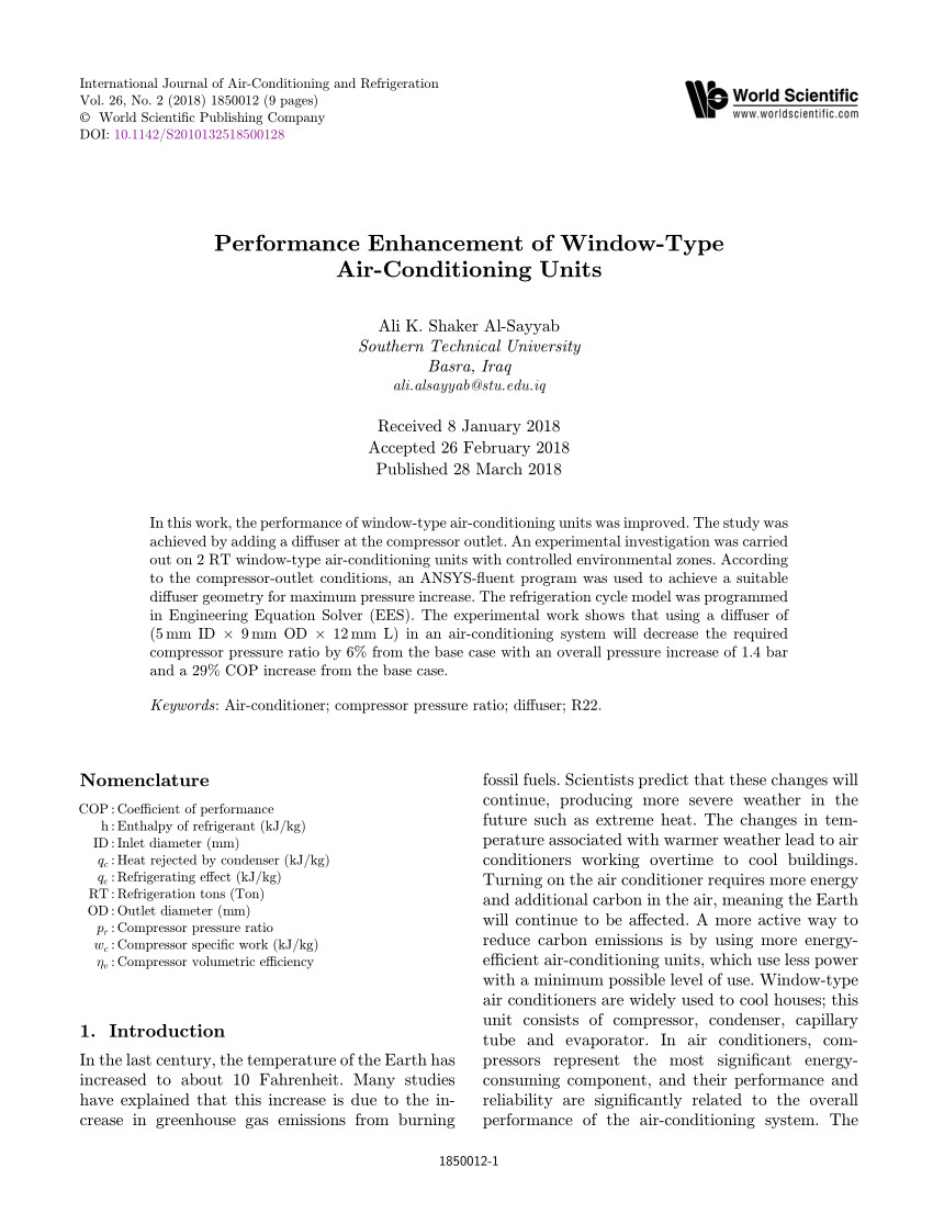 pdf heat transfer characteristics for condensation of r134a in a vertical smooth tube