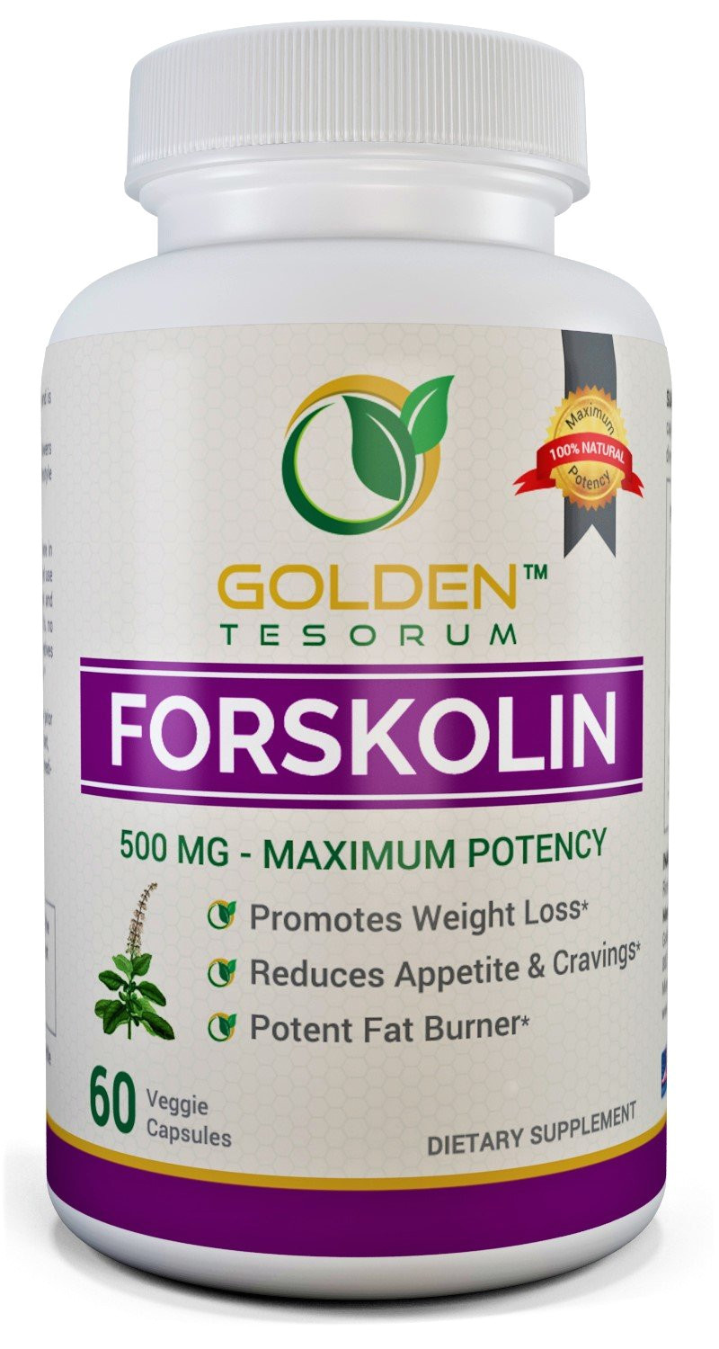 amazon com 100 pure forskolin extract for weight loss maximum strength 500mg coleus forskohlii supplement appetite suppressant potent fat burner for