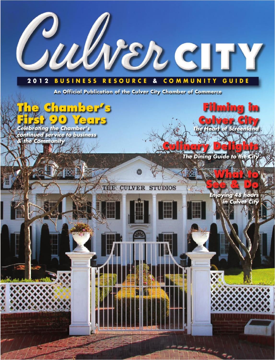 2012 culver city ca chamber directory by chamber marketing partners inc issuu