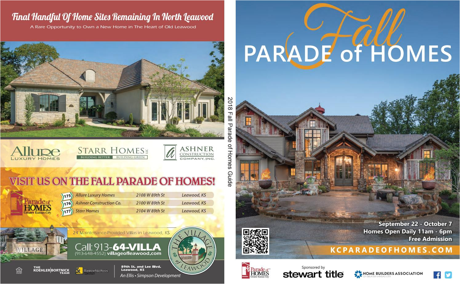 2018 fall parade of homes guide by home builders association of greater kansas city issuu