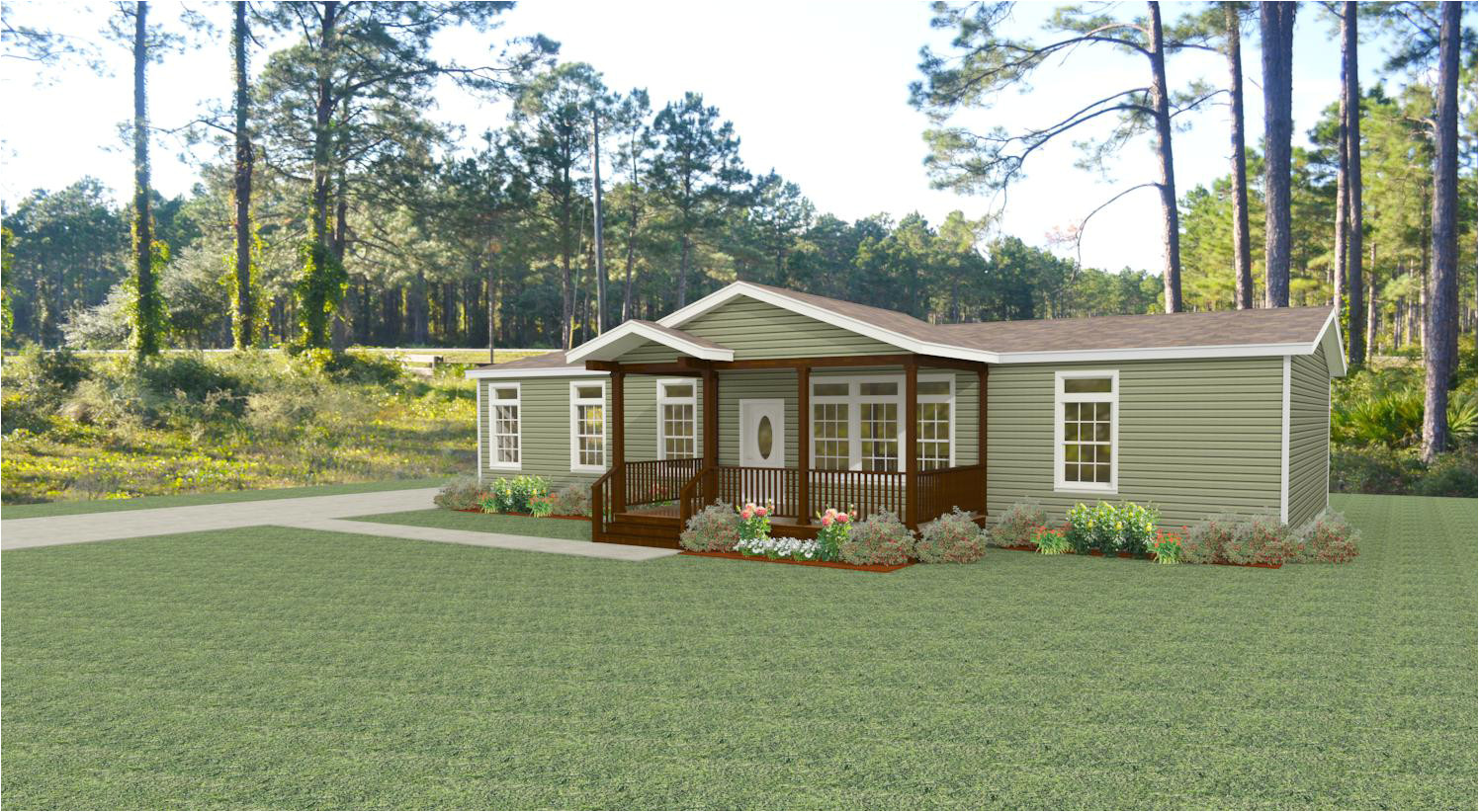 exterior rendering jacobsen homes floor plan imlt 46412b with porch