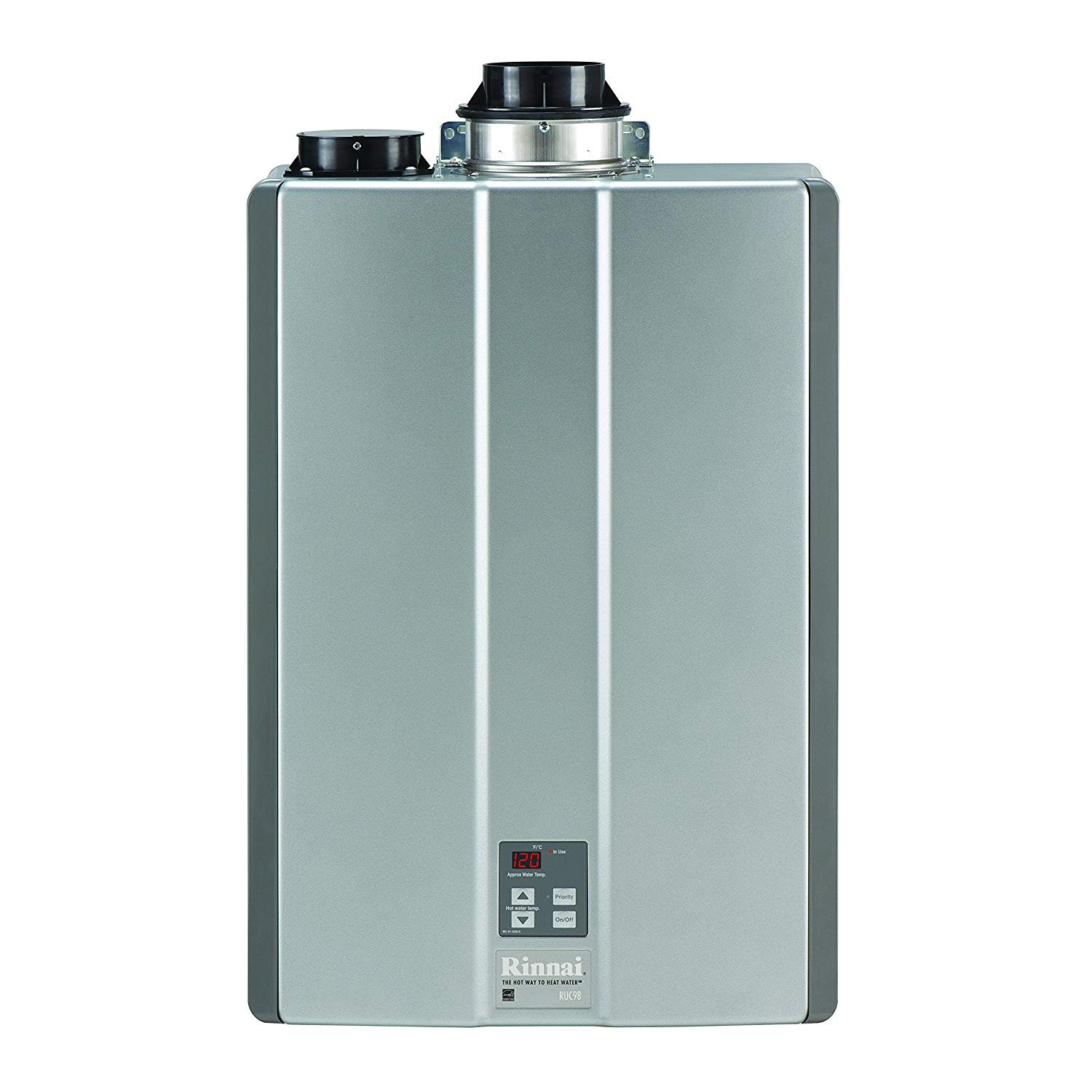 rinnai ruc98in ultra series natural gas tankless water heater twin pipe amazon com