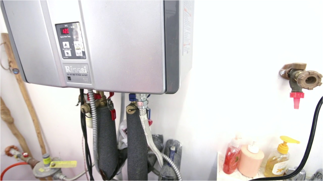 rinnai water heater not working after flush descaling in use light not on