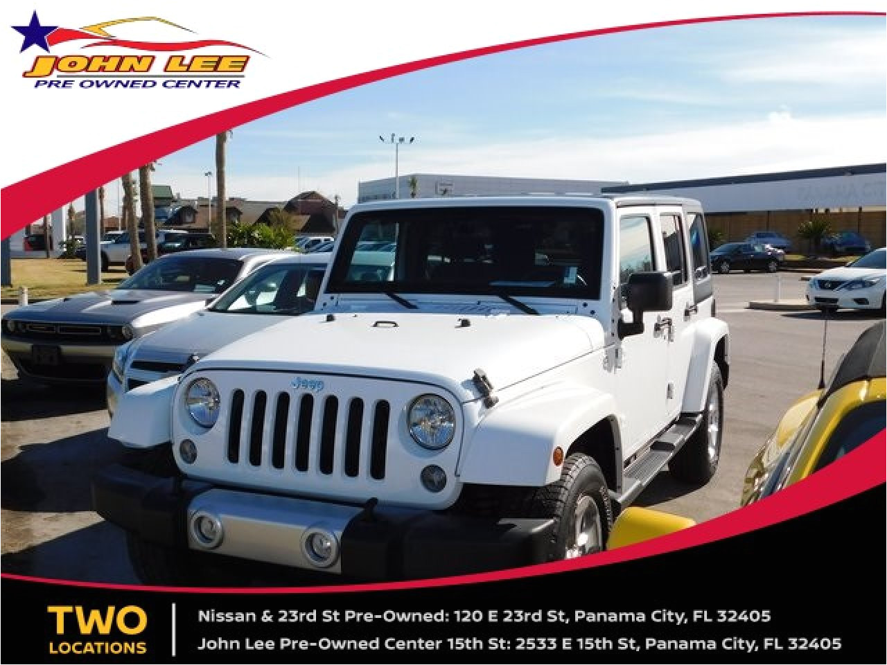 used 2015 jeep wrangler unlimited in panama city fl