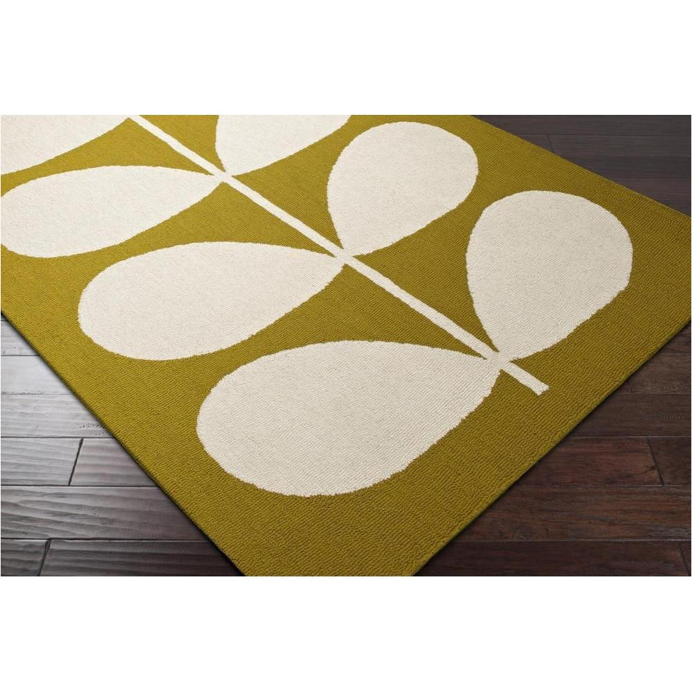 orla kiely area rug floral and paisley rugs machine made style okr5001
