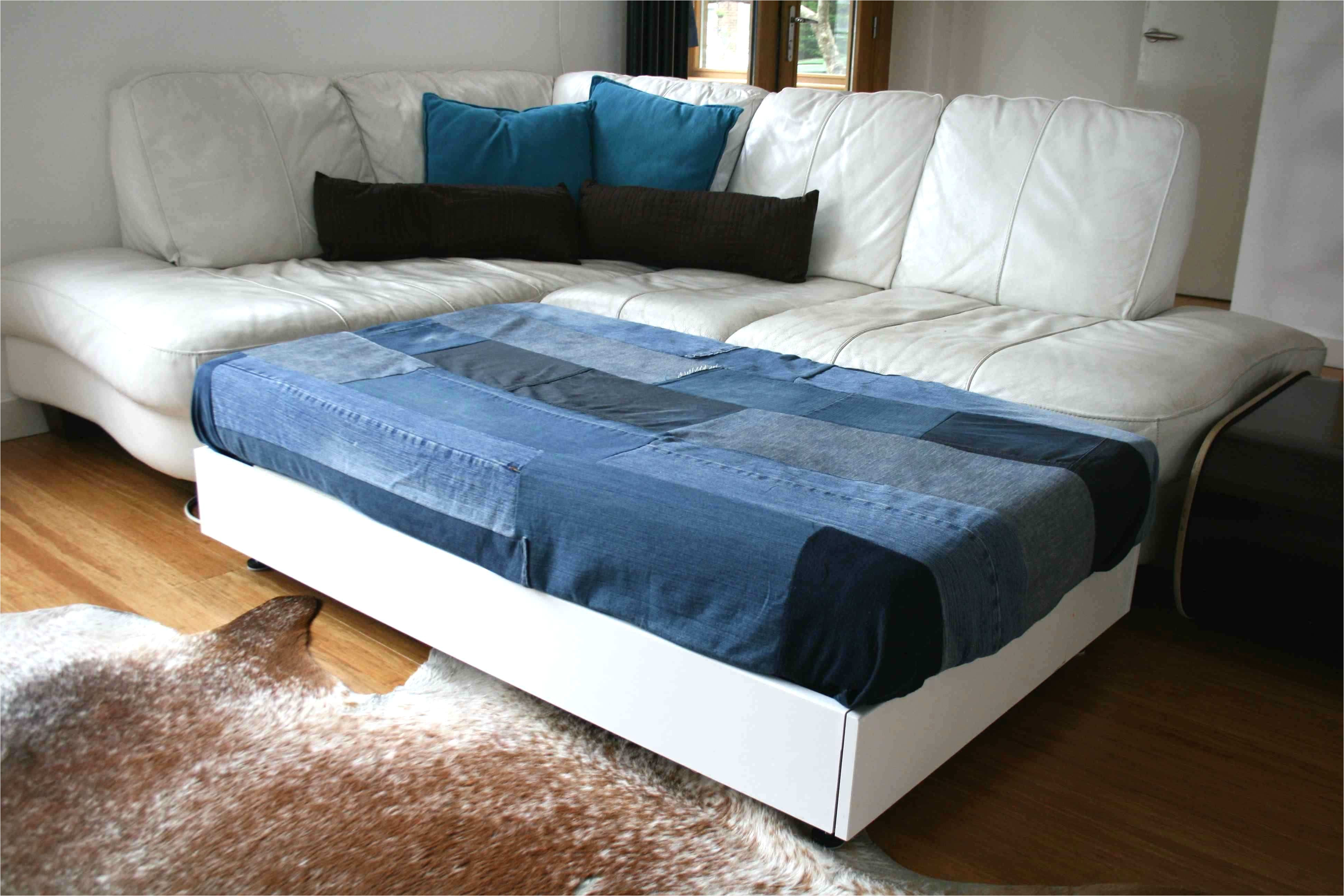 diy sofa family bed with upcycled denim cover luz patterns of simple sam amp 039