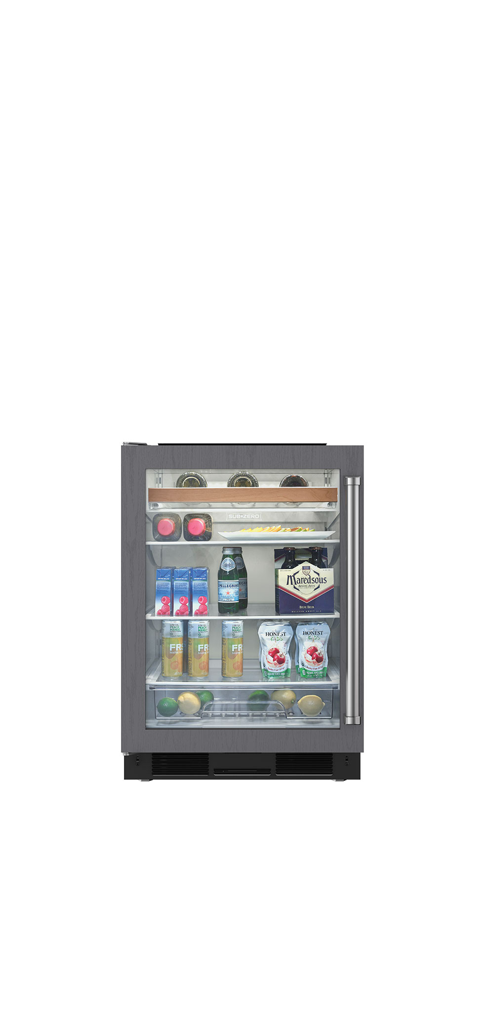 24 undercounter beverage center panel ready a 24