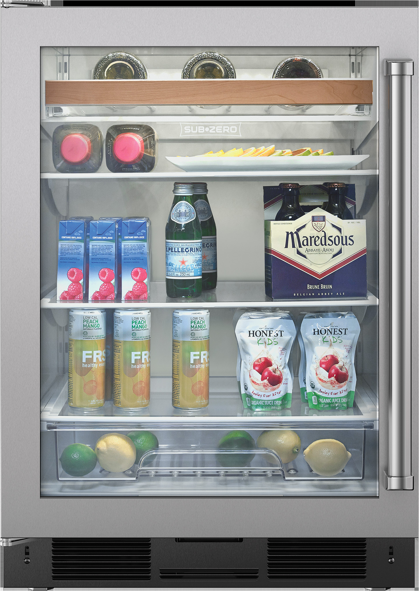 undercounter beverage center stainless door a 24
