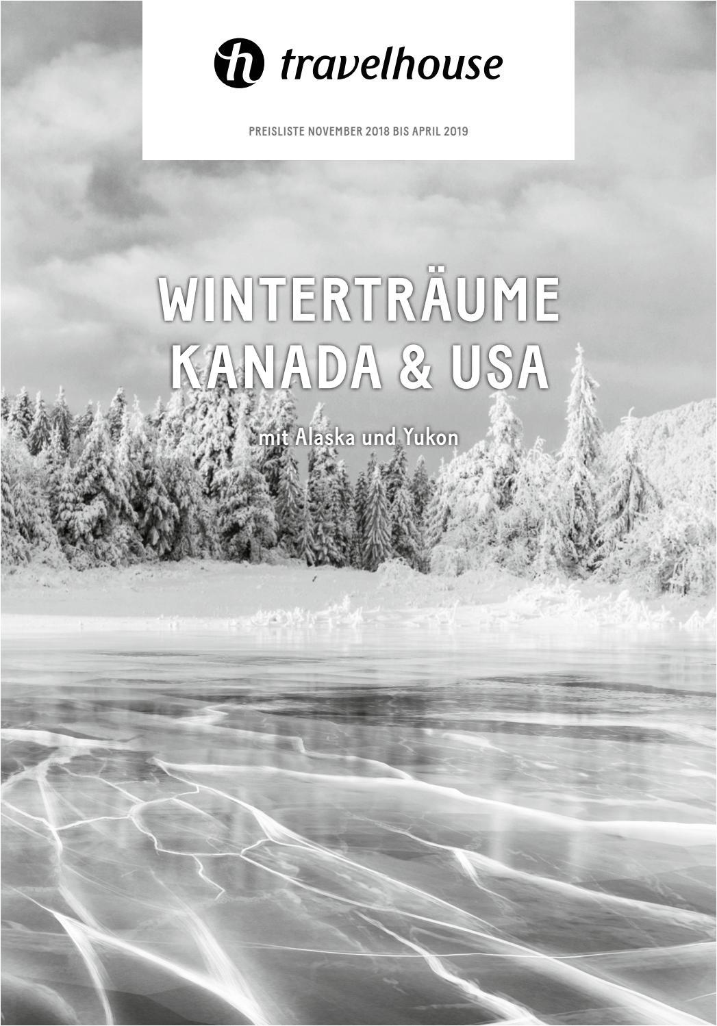 Silver Stag Woods and Water Price Preisliste Travelhouse Wintertraume Kanada Usa November 18 Bis