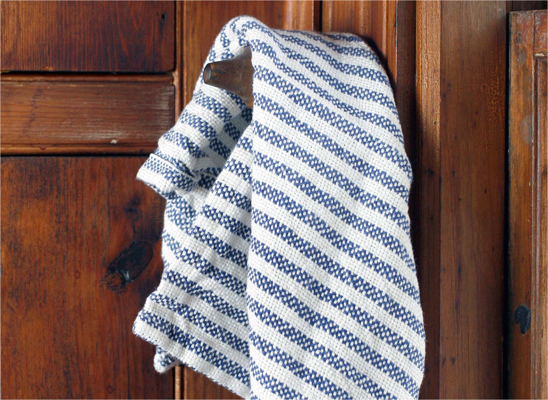 pearl blue towel
