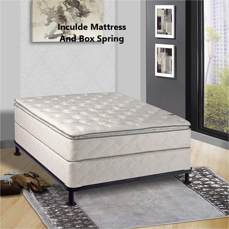 amazon com continental sleep 10 inch medium mattress queen size kitchen dining