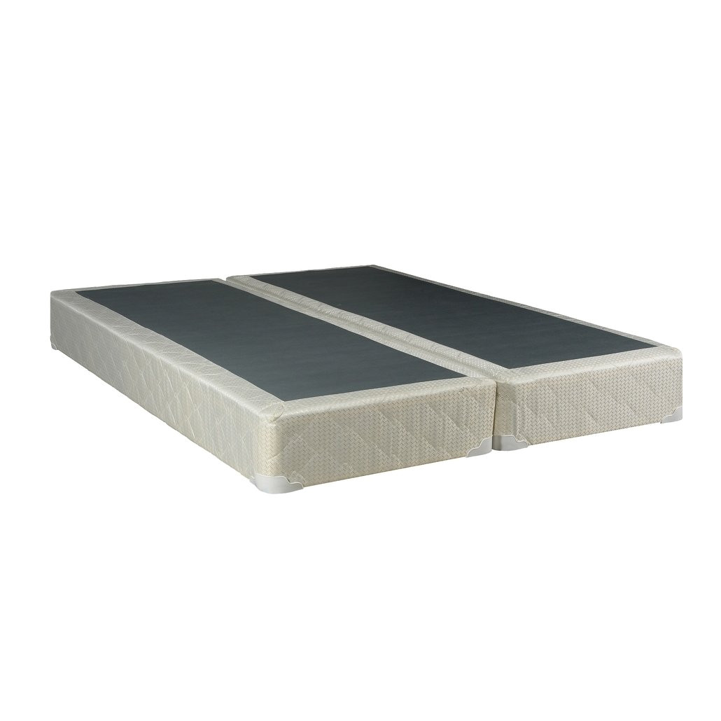 shop spring coil 8 inch queen size split foundation on sale free shipping today overstock com 11996007