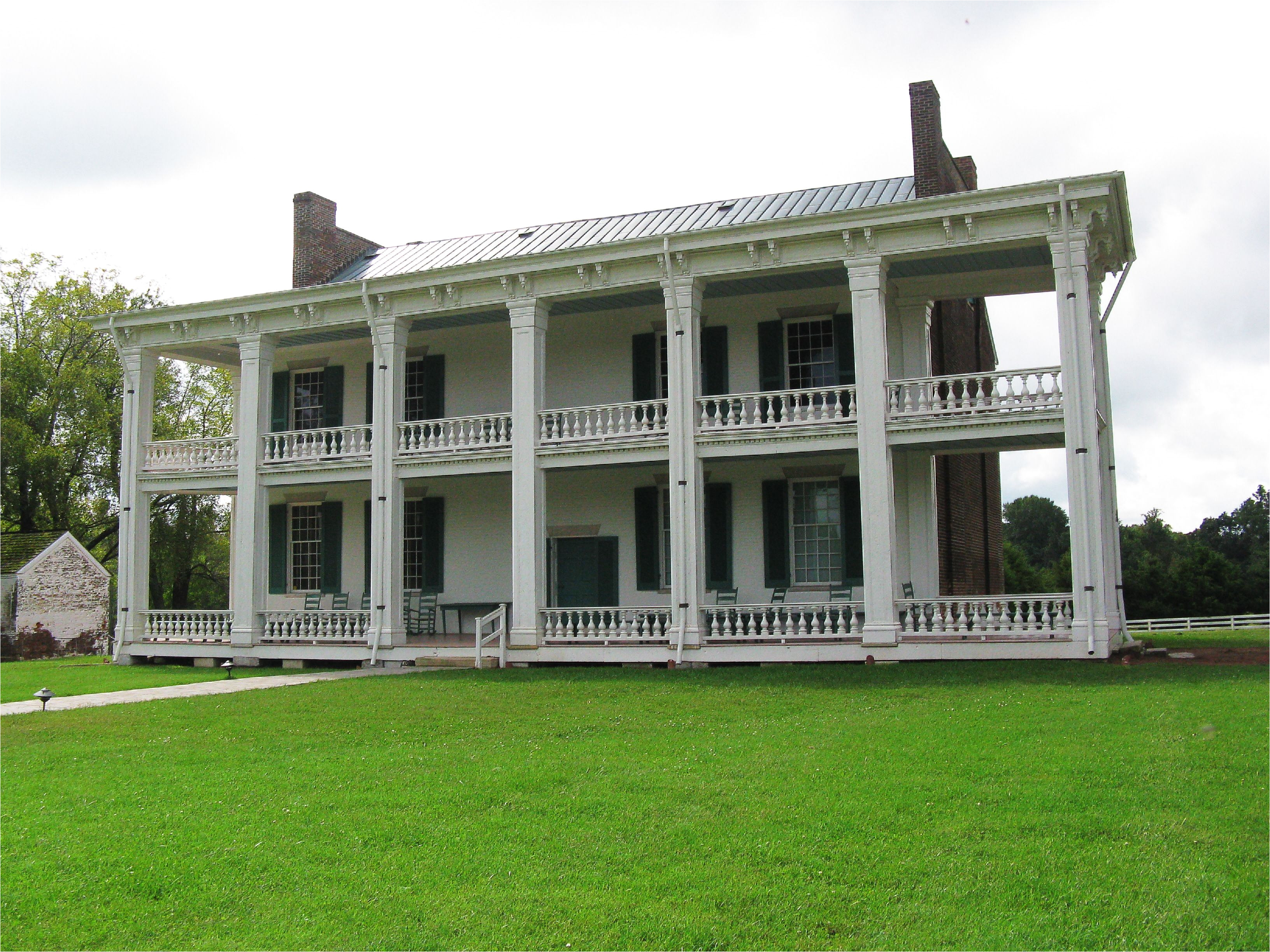 Southern Housing Tupelo Ms Tennessee Carnton Historic Plantation House In Franklin Williamson