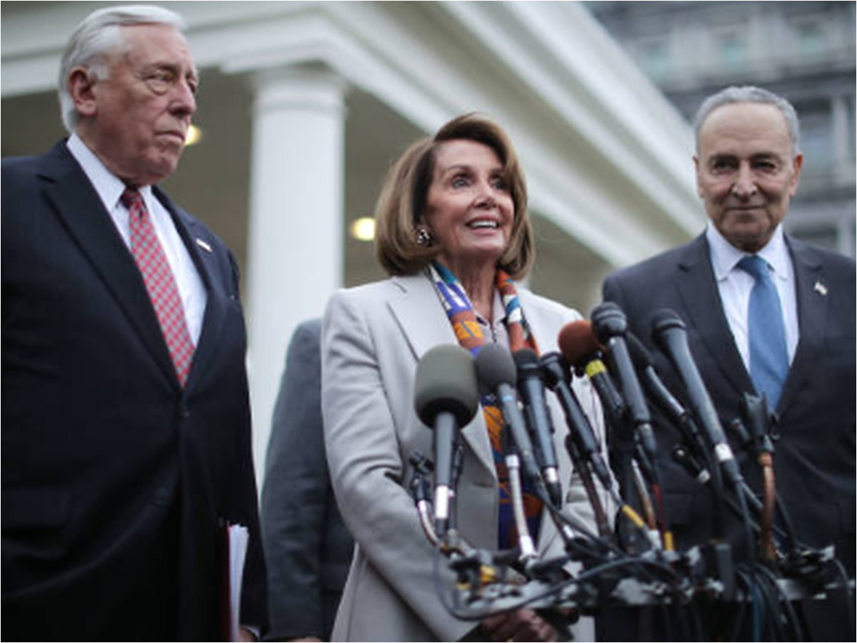 pelosi takes hard line against wall money in funding bill