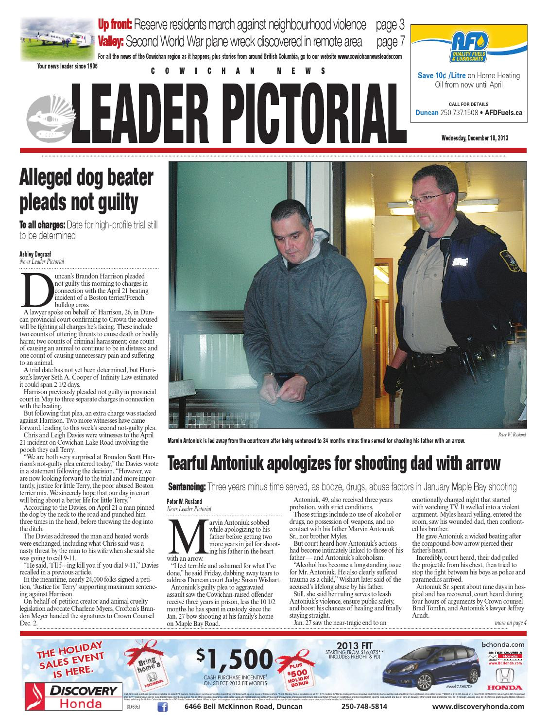 Superstore Click and Collect Duncan Cowichan News Leader Pictorial December 18 2013 by Black Press issuu