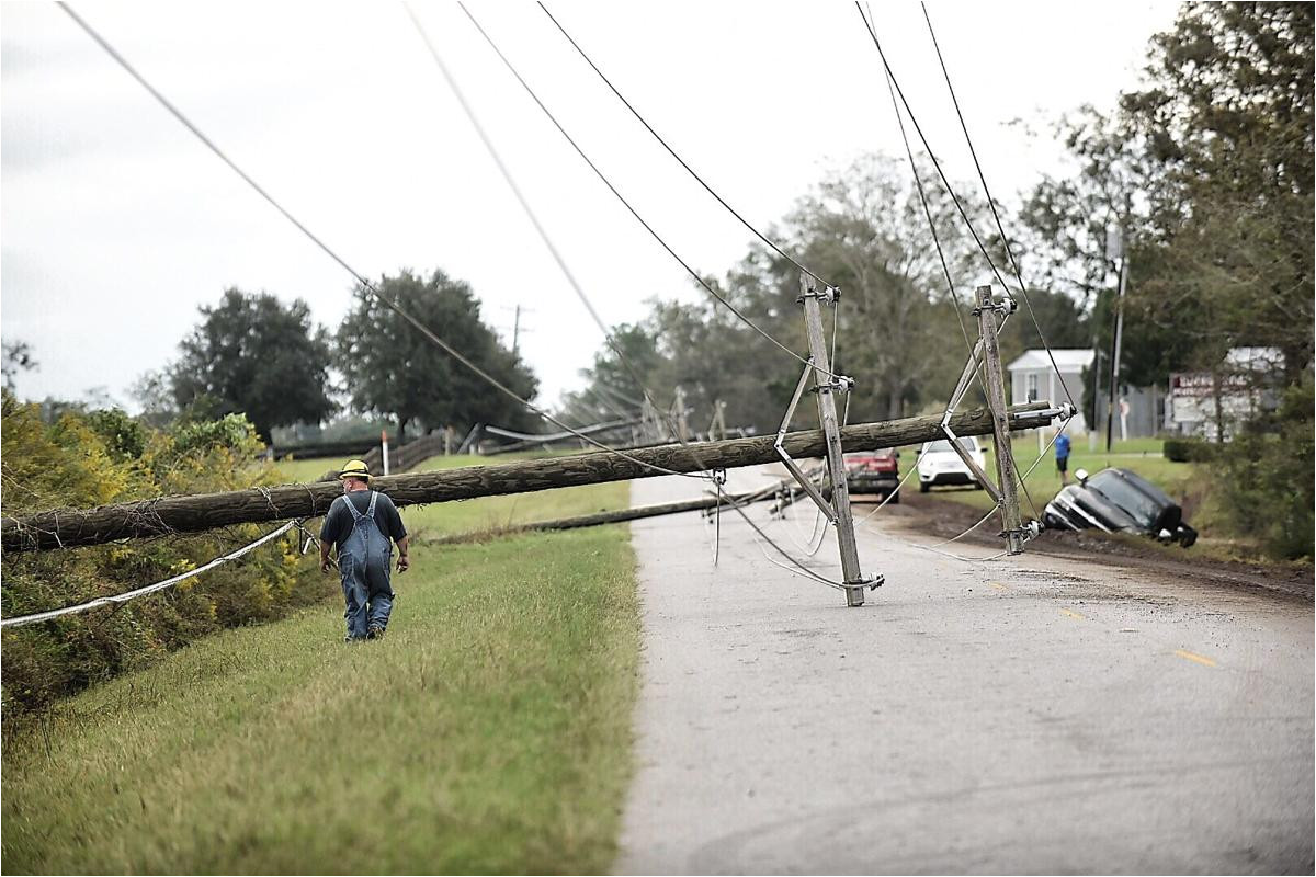 the aftermath of hurricane michael photos from around the wiregrass news dothaneagle com