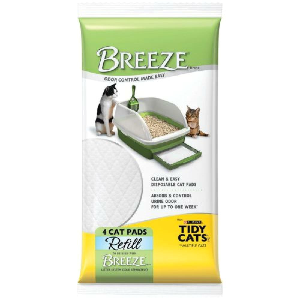 The Breeze Litter Box Reviews Tidy Cats 4 Count Breeze Litter Pad Refill Ebay