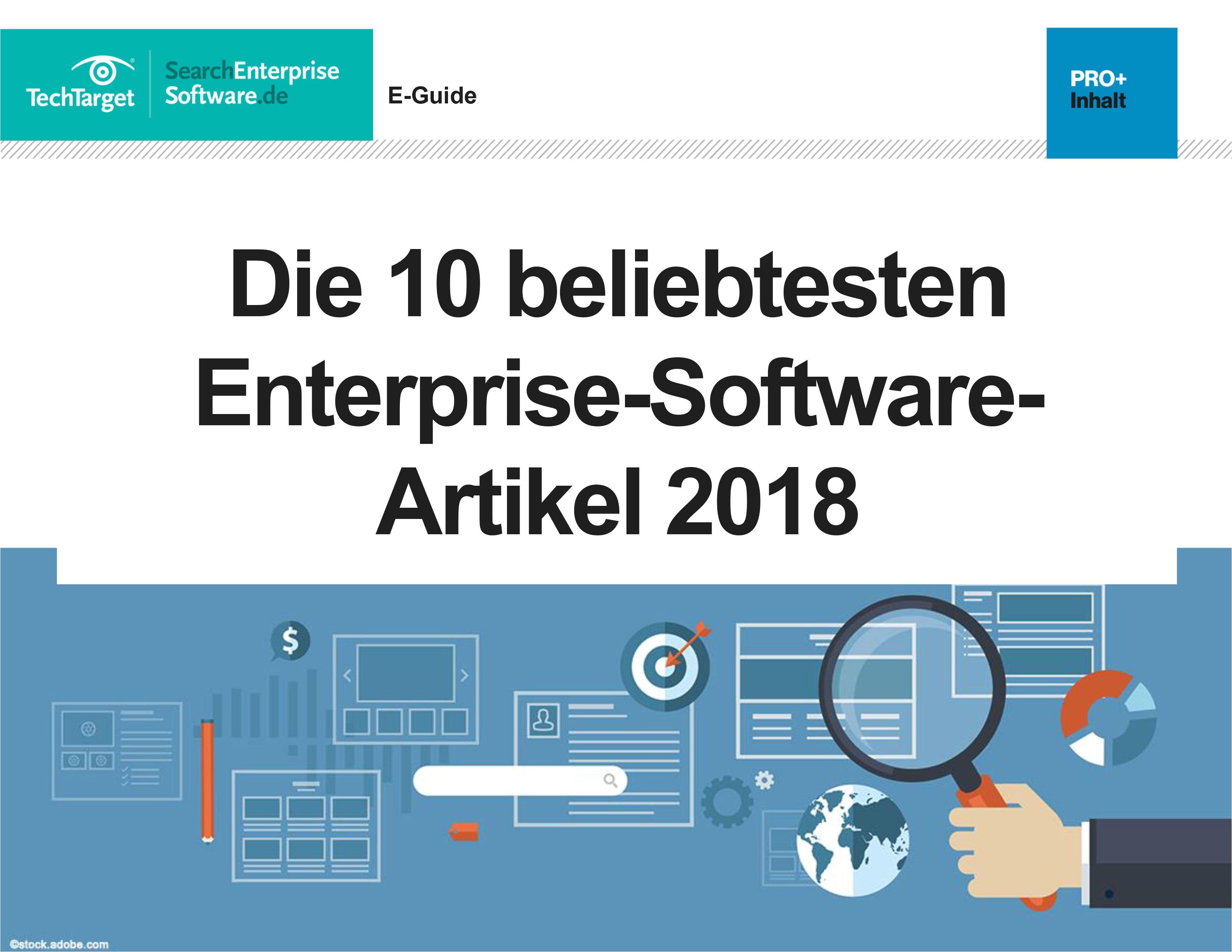 die 10 beliebtesten enterprise software artikel 2018