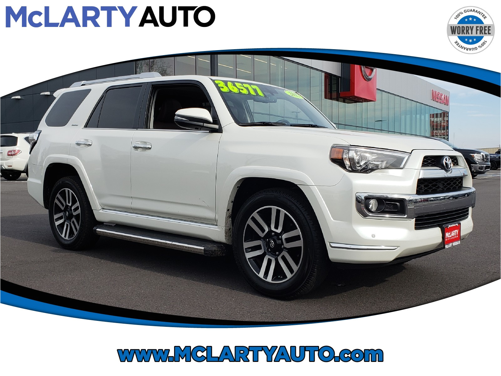 2017 toyota 4runner limited jtezu5jr8h5161003 mclarty nissan of benton benton ar
