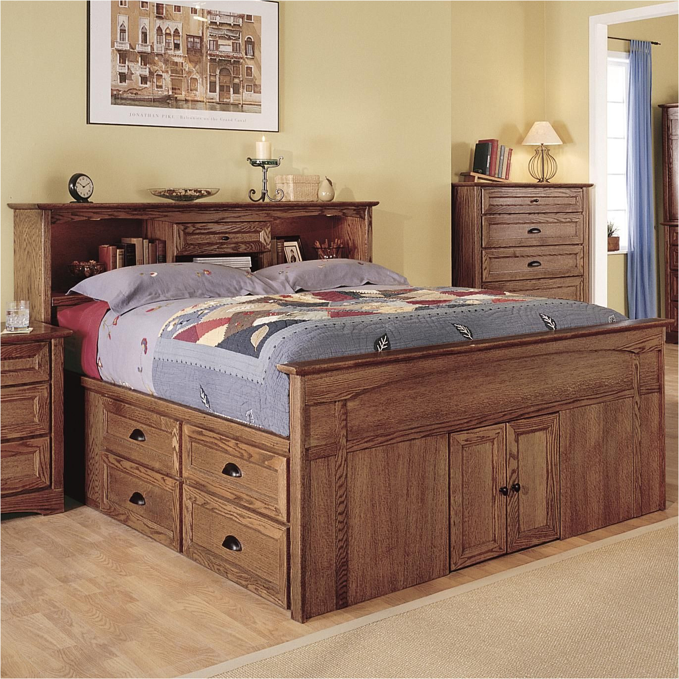 syrah queen captain s bed by thornwood