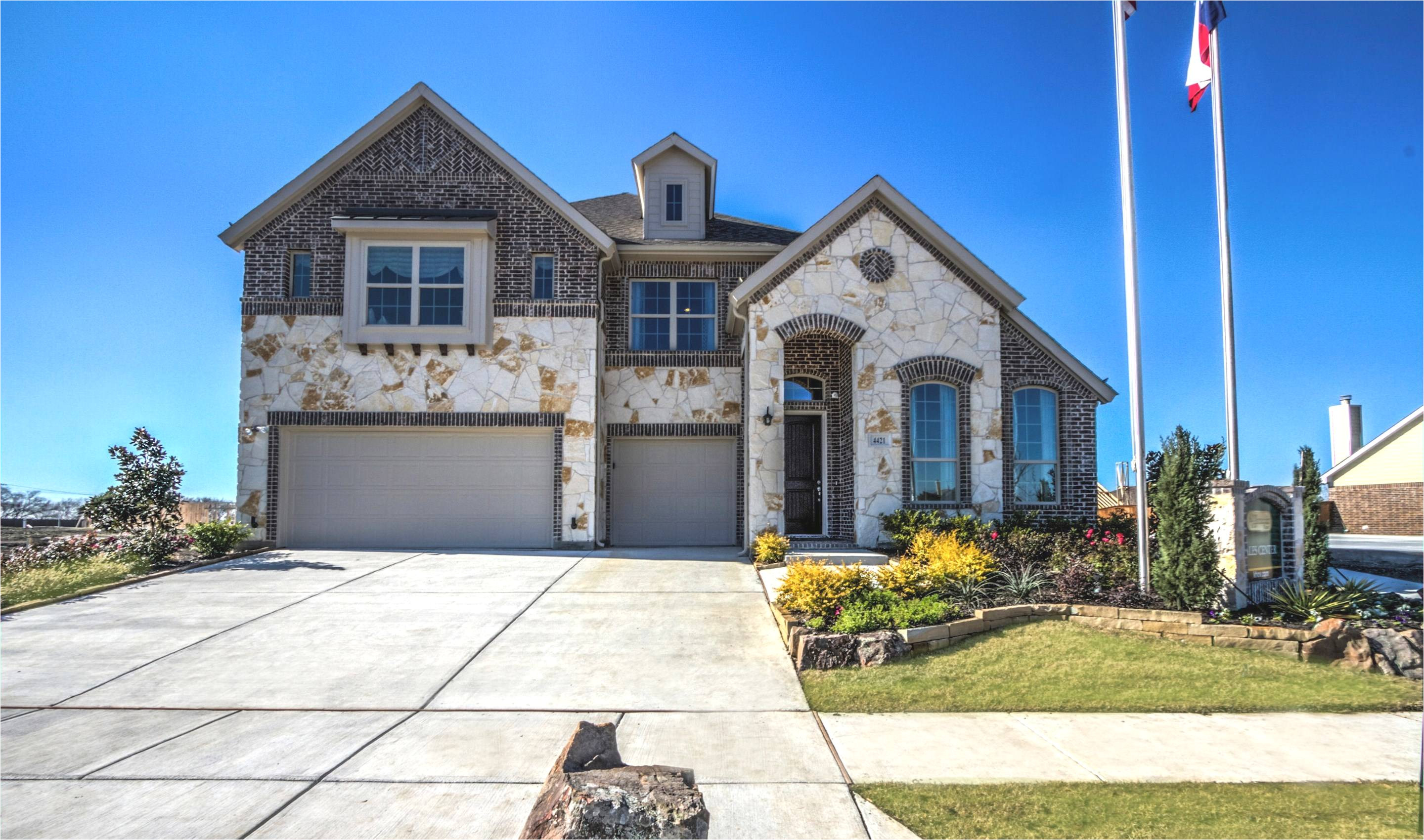 stone exterior in celina light farms cypress new homes texas jpg