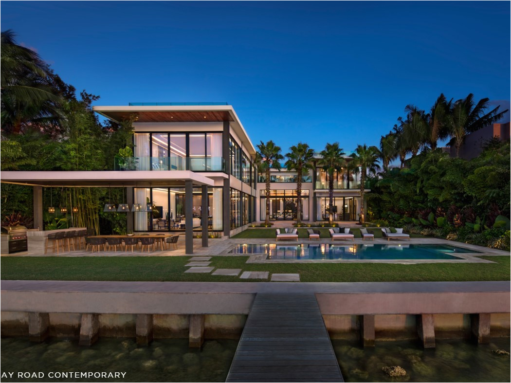 the north bay road home in miami beach was sold for 20m reines takes miami s modern style to the next level at this 12k square foot property
