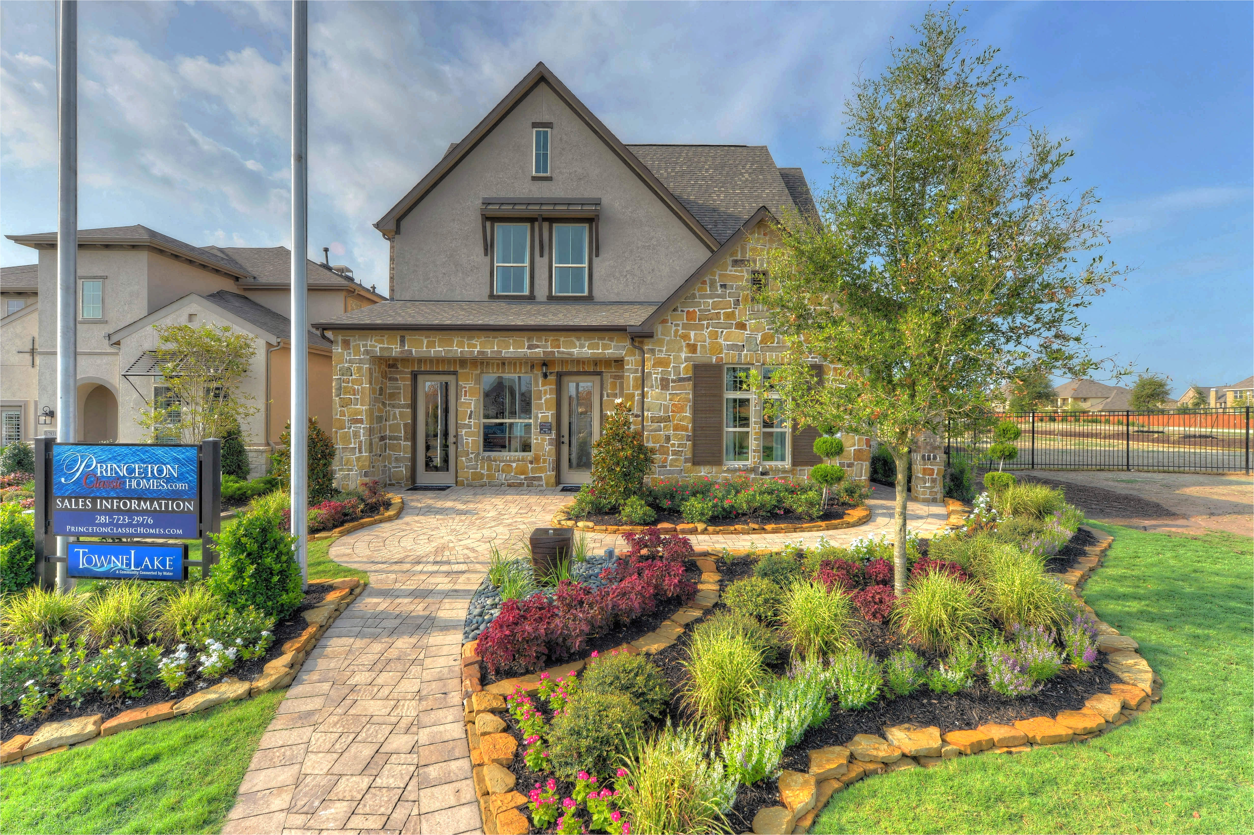 towne lake in cypress tx new homes floor plans by princeton classic homes