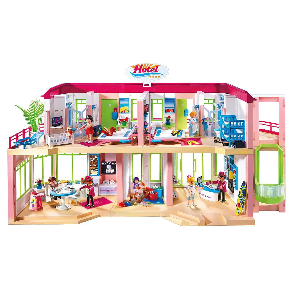 playmobil large furnished hotel playmobil toys r us kids gift finder preschool toys