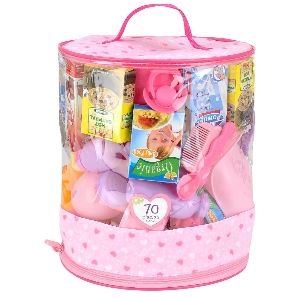 you me 70 piece doll care accessories cylinder toys r us toys r us