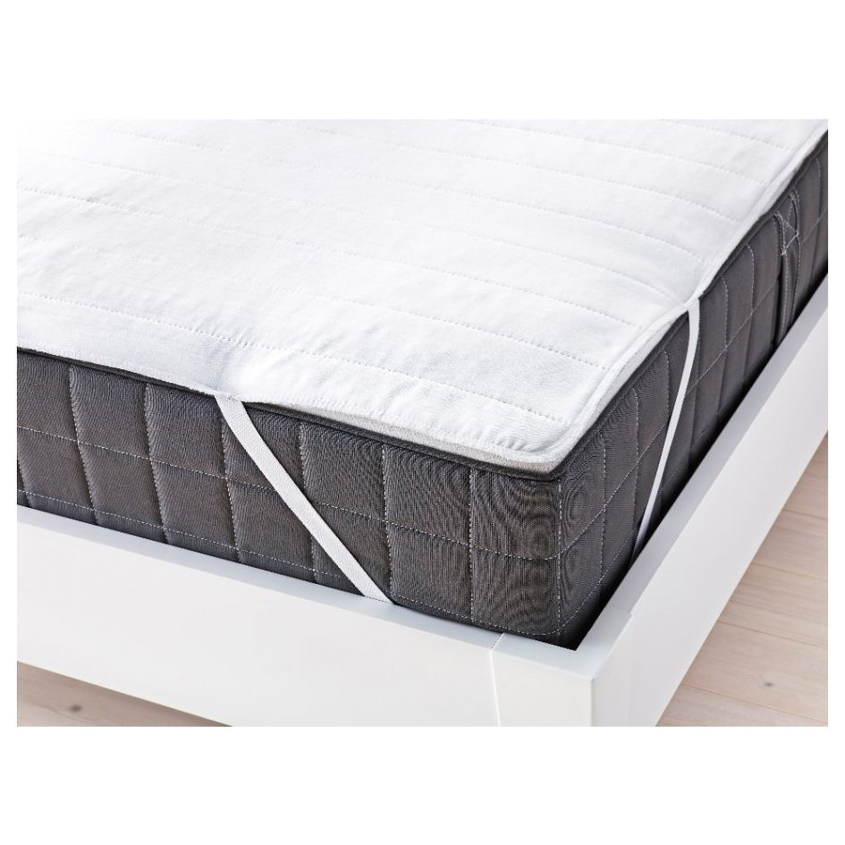ikea angsvide mattress cover white tri fold foldable murphy kit rollaway folding single out full