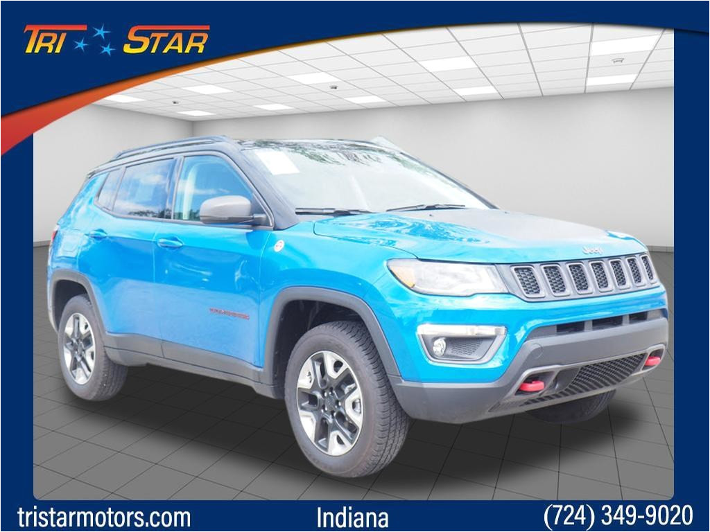 new 2018 jeep compass for sale at tri star indiana vin 3c4njddb6jt373621